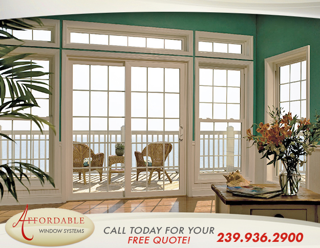 Replacement Impact Sliding Glass Doors in and near Bonita Springs Florida