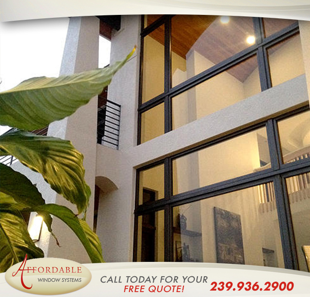Replacement Aluminum Windows in and near Cape Coral Florida