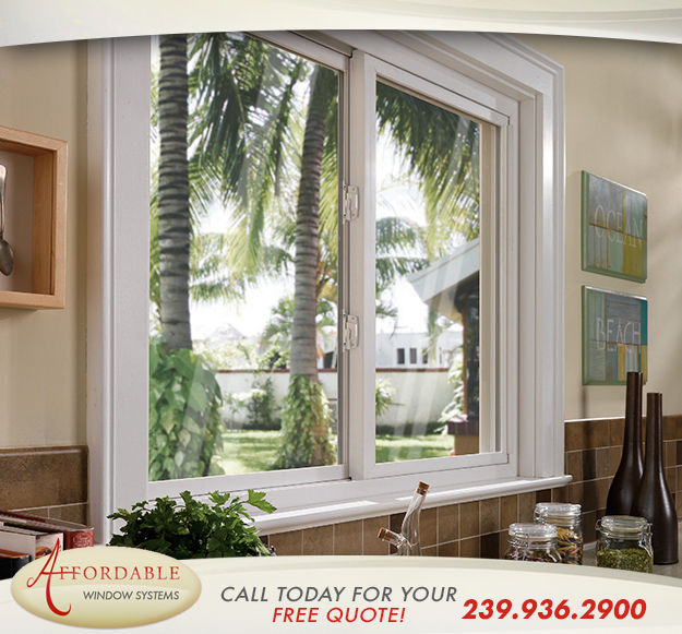 Replacement Sliding Windows in and near Cape Coral Florida