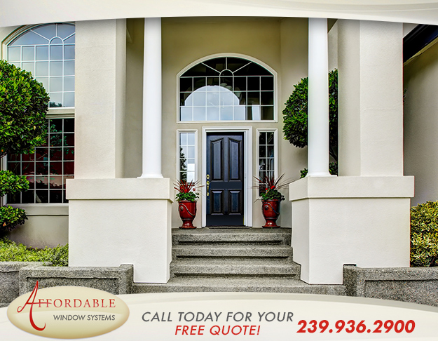 Replacement Aluminum Doors in and near Estero Florida