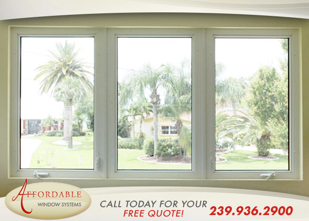 Replacement Impact Casement Windows in and near Estero Florida