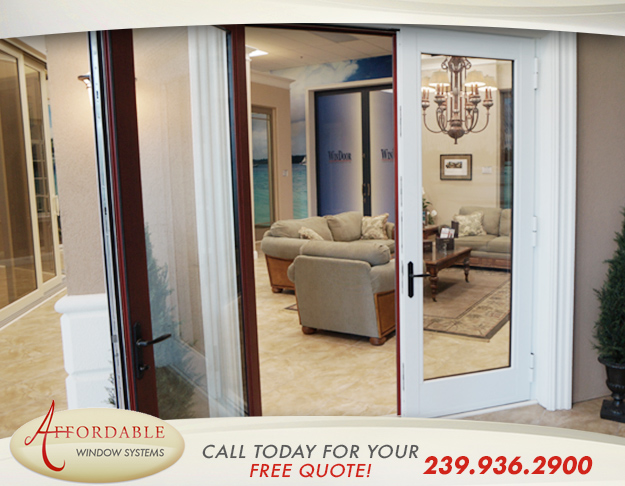 Replacement Impact French Patio Doors in and near Estero Florida