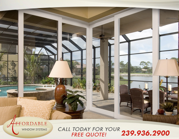 Replacement Sliding Glass Doors in and near Estero Florida