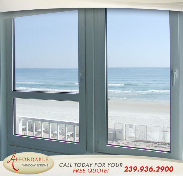 Replacement Hurricane Windows in and near Fort Myers Beach Florida