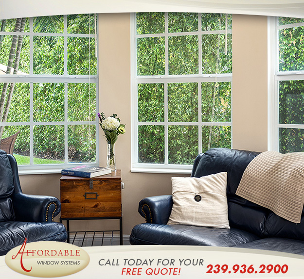 Replacement Impact Single Hung Windows in and near Marco Island Florida