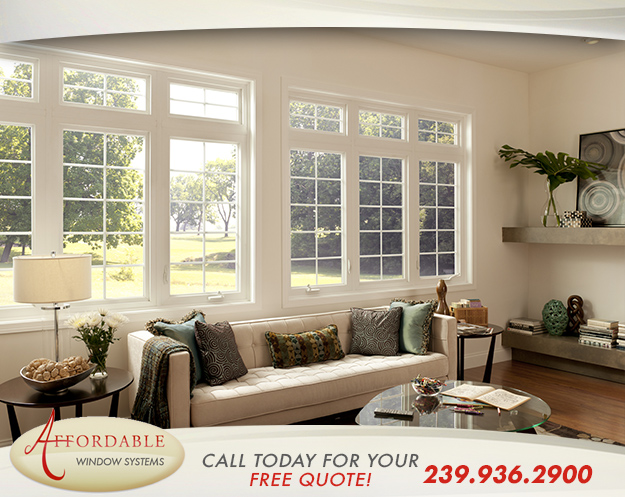 Replacement Casement Windows in and near Naples Florida