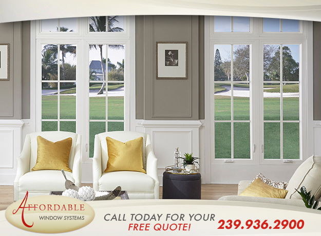 Replacement Energy Efficient Windows in and near Naples Florida