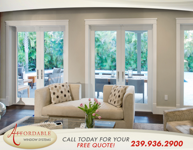 Replacement French Patio Doors in and near Naples Florida