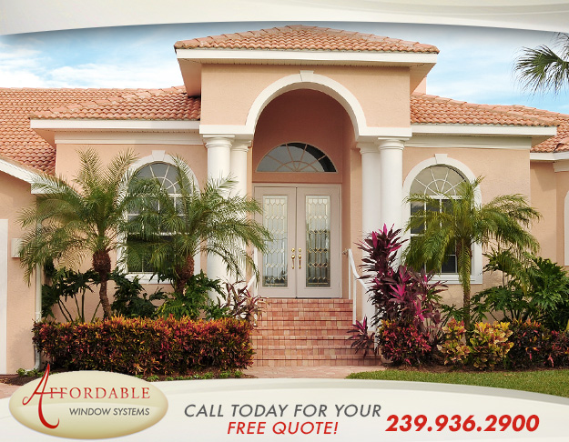 Replacement Impact Entry Doors in and near Naples Florida