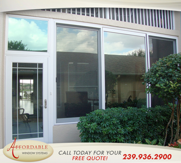 Replacement Impact Windows in and near Naples Florida