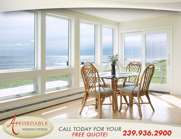 Replacement Impact Vinyl Windows in and near Naples Park Florida