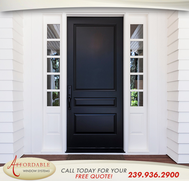 Replacement Entry Doors in and near Sanibel Florida