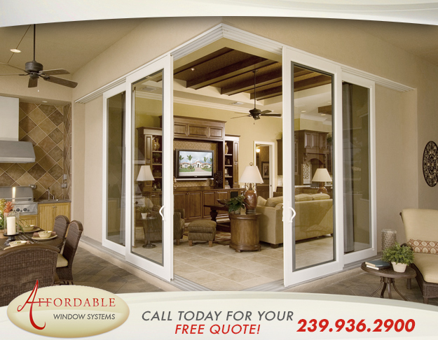 Replacement Sliding Patio Doors in and near Sanibel Florida
