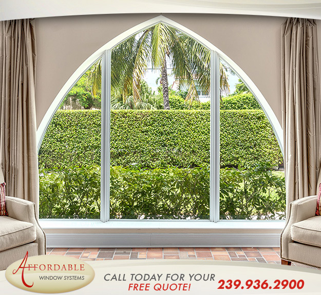 Replacement Shape Windows in and near Sarasota Springs Florida